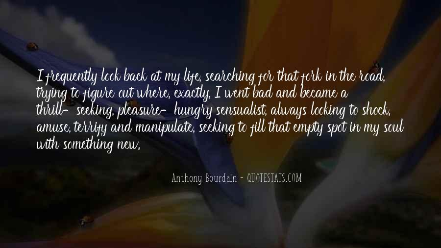Back In My Life Quotes #345342