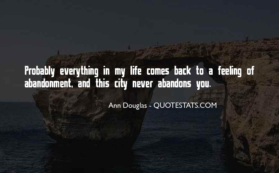 Back In My Life Quotes #38360
