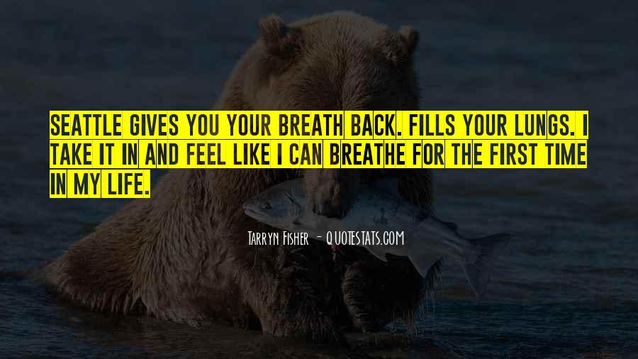 Back In My Life Quotes #48367
