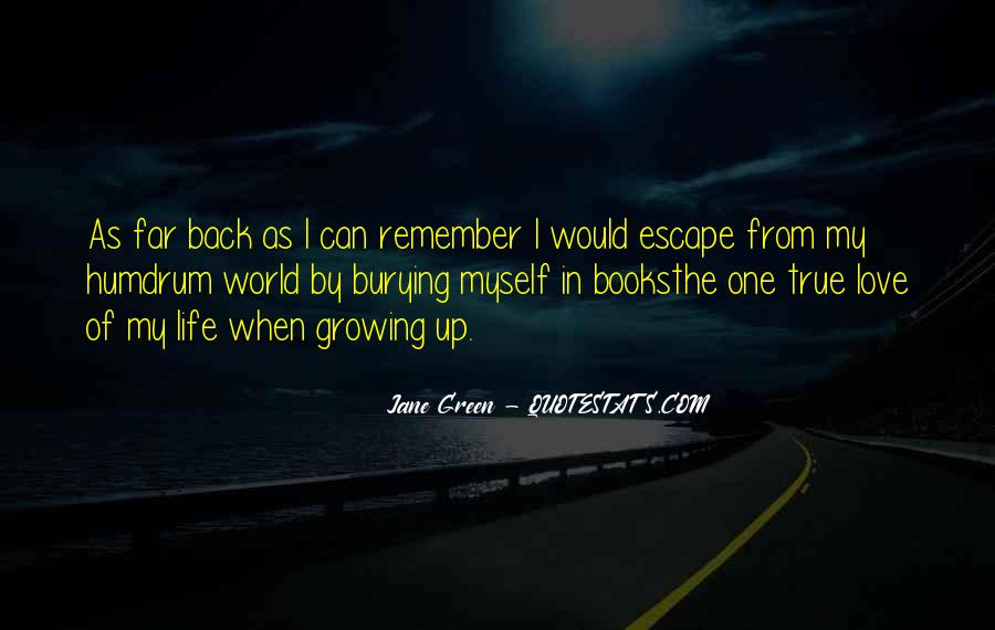 Back In My Life Quotes #70609