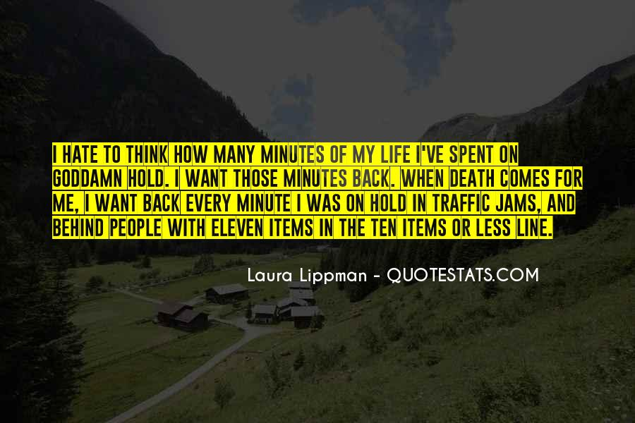 Back In My Life Quotes #93391