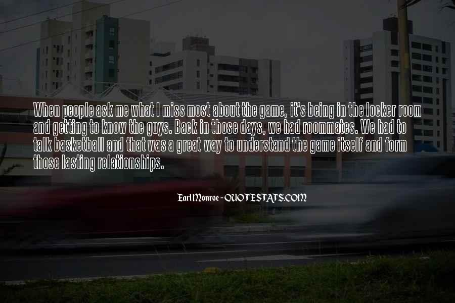 Back To Those Days Quotes #119987
