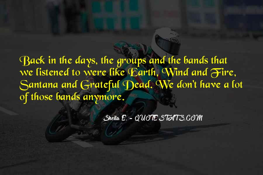 Back To Those Days Quotes #139046