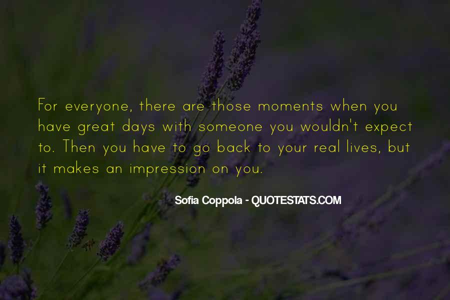 Back To Those Days Quotes #1826556