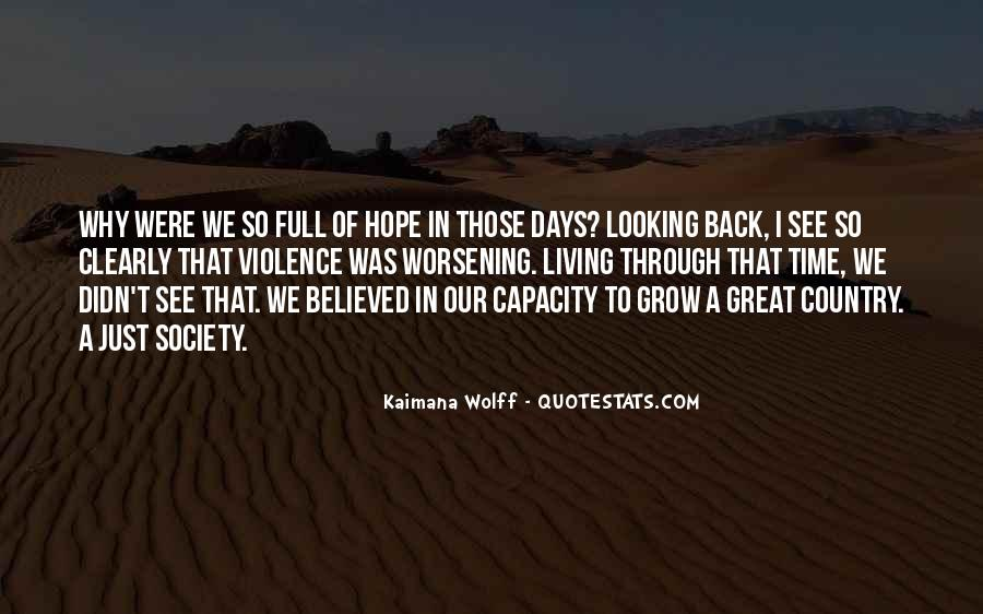 Back To Those Days Quotes #283133