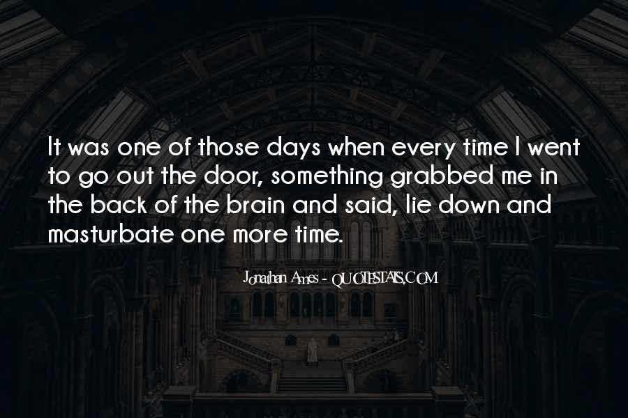 Back To Those Days Quotes #34685