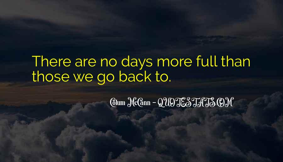 Back To Those Days Quotes #856144
