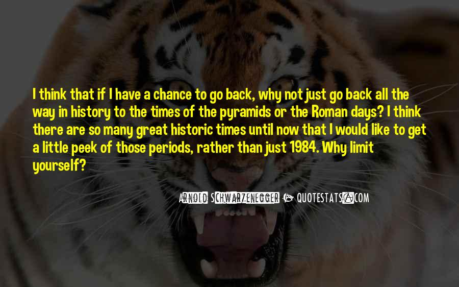 Back To Those Days Quotes #928498