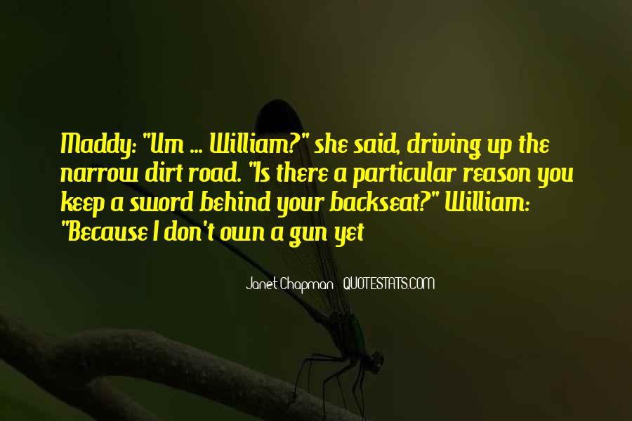 Backseat Driving Quotes #1571703