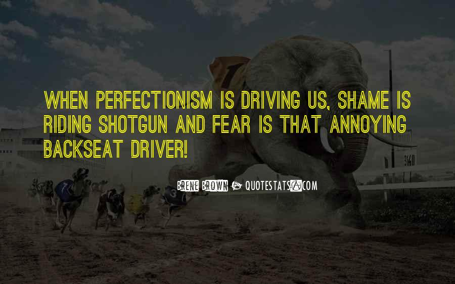 Backseat Driving Quotes #727583