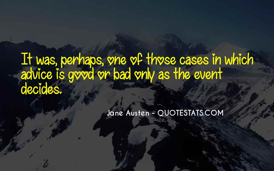 Bad Events Quotes #1487613