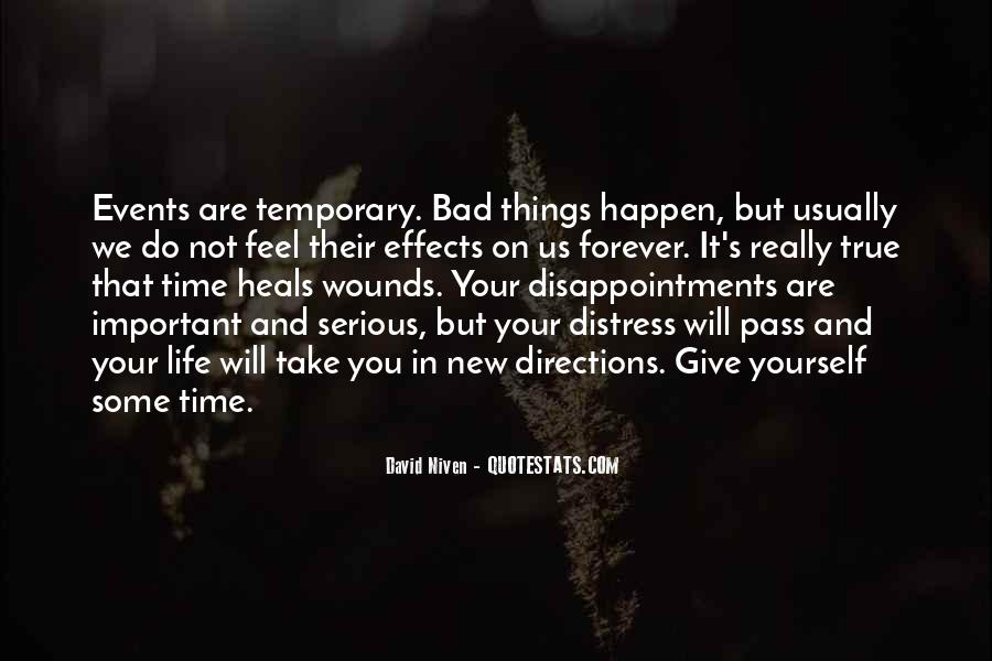 Bad Events Quotes #1544918
