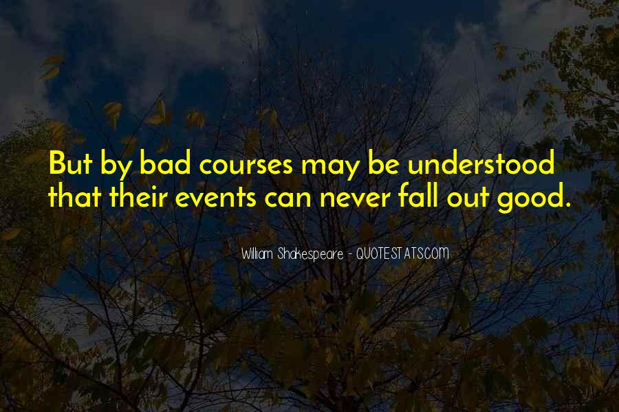 Bad Events Quotes #1849221