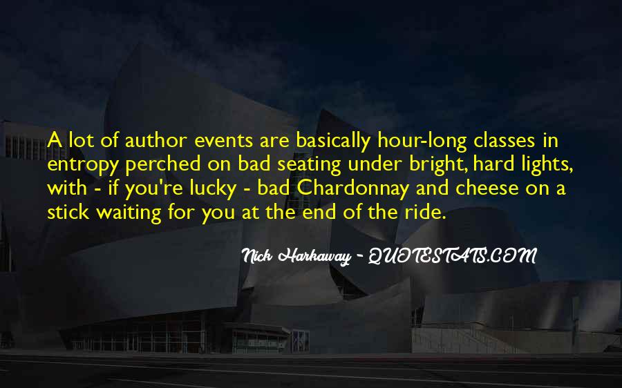 Bad Events Quotes #219393