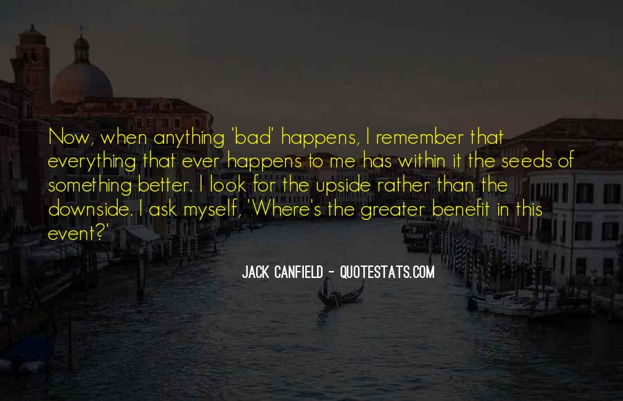 Bad Events Quotes #929623