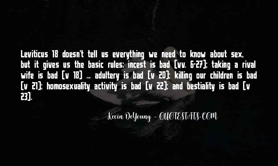 Bad Leviticus Quotes #1479196