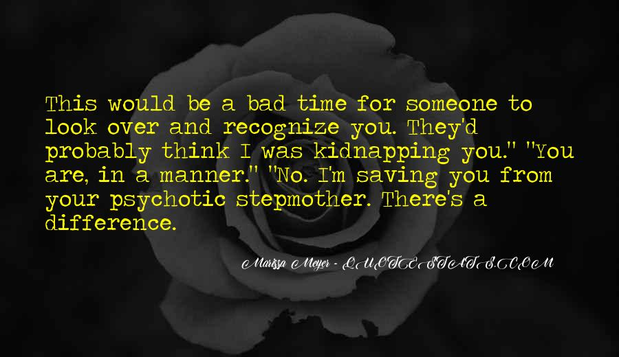 Bad Manner Quotes #1420708