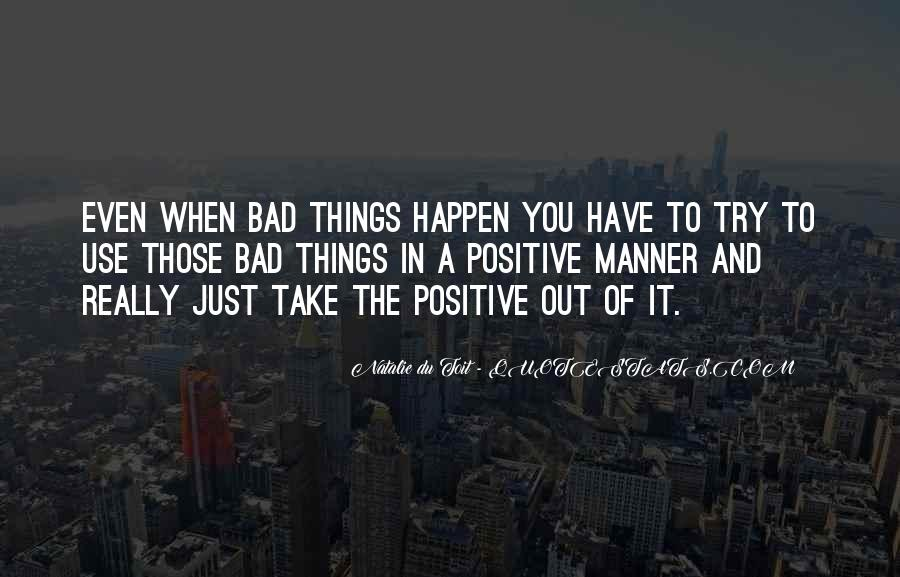 Bad Manner Quotes #254583