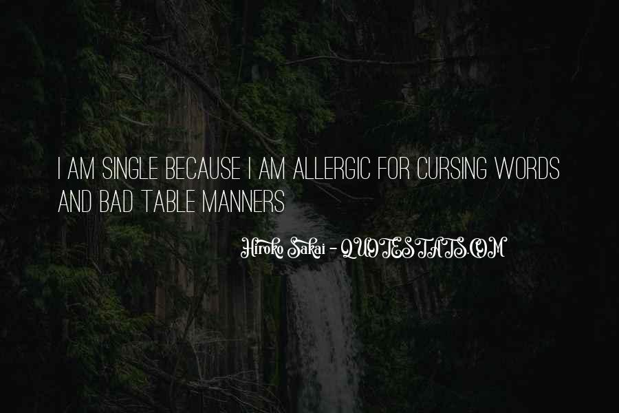 Bad Manner Quotes #428449