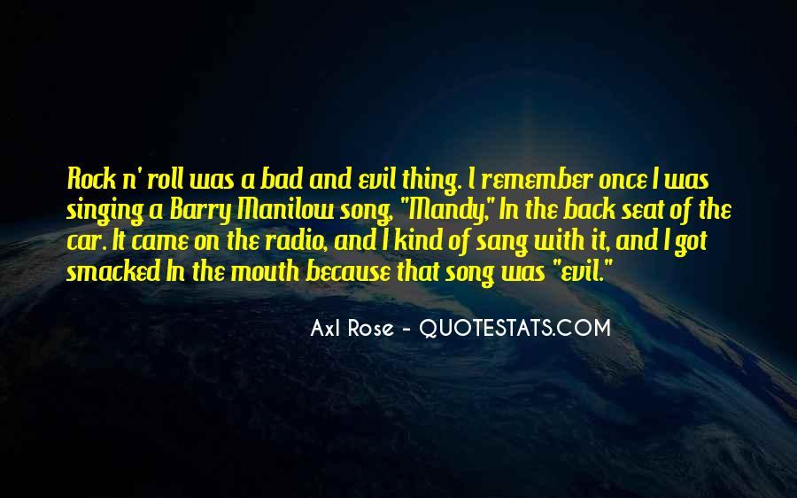 Bad Mouth Me Quotes #100281