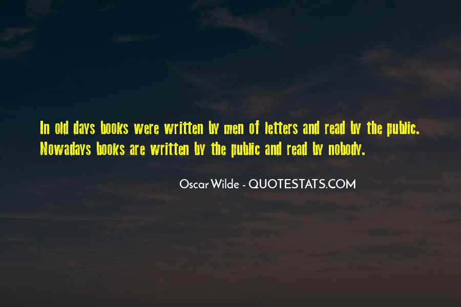 Bad Old Days Quotes #1145876