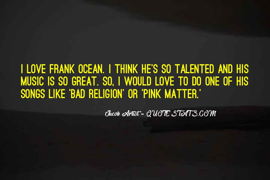 Bad Religion Love Quotes #268339
