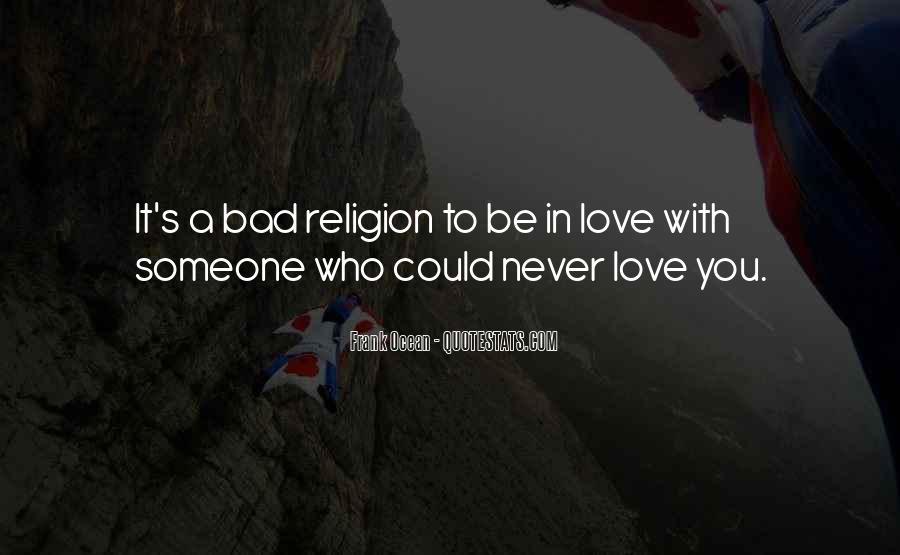 Bad Religion Love Quotes #428628