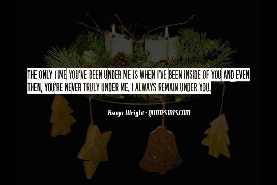 Bad Time For Me Quotes #875602