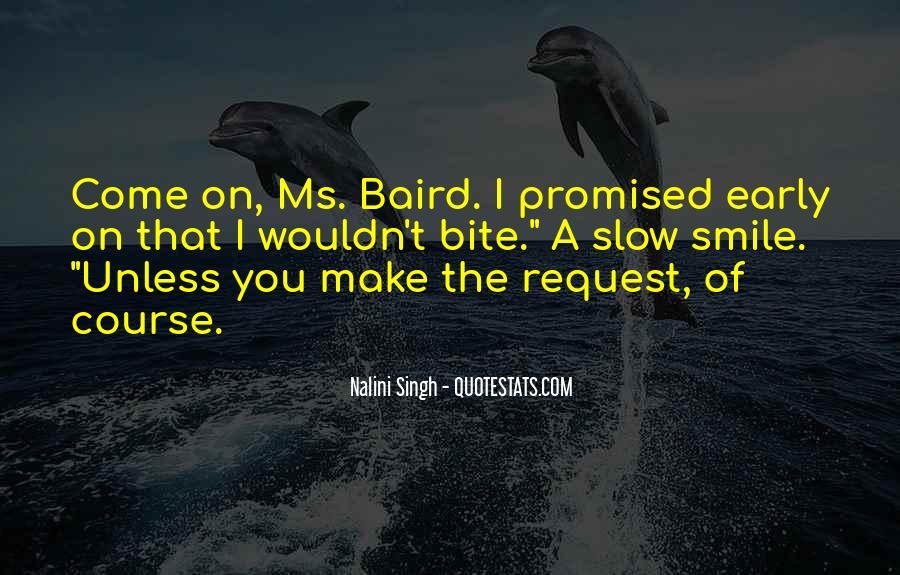 Baird Quotes #123110