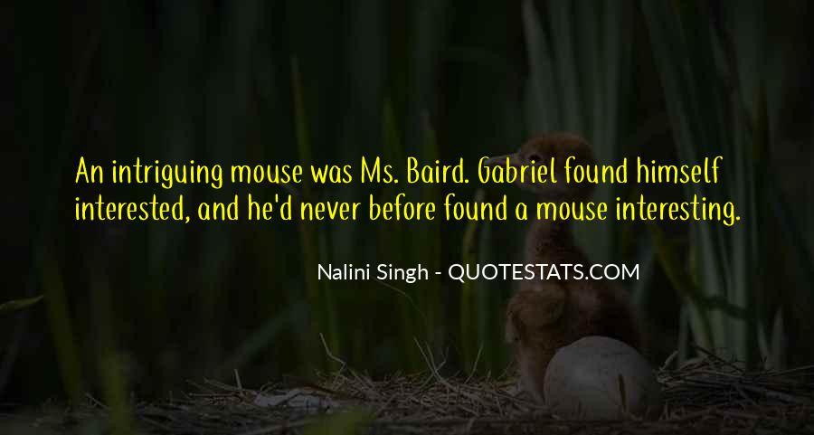 Baird Quotes #318808