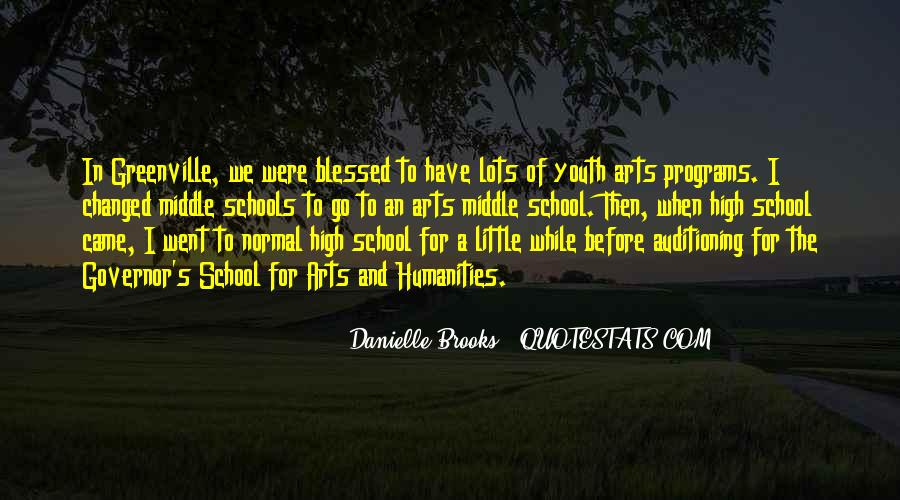 Quotes About Middle School To High School #1520017