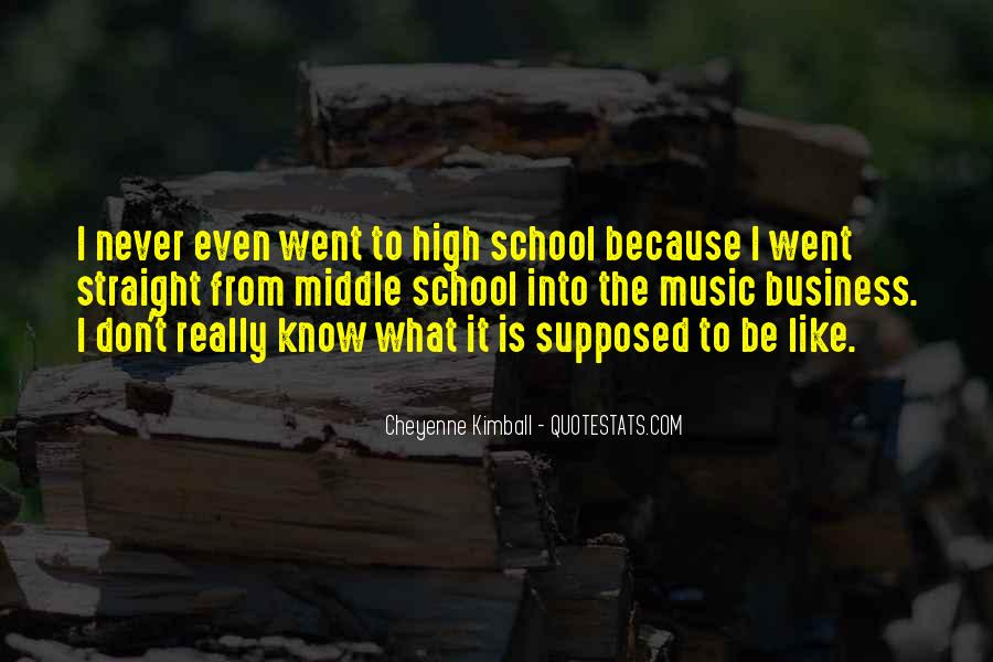Quotes About Middle School To High School #1614011