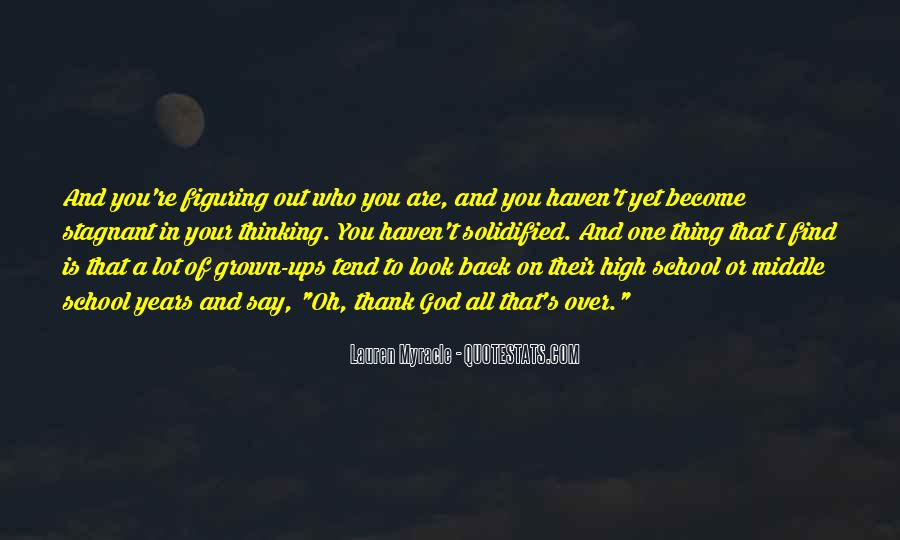 Quotes About Middle School To High School #81535