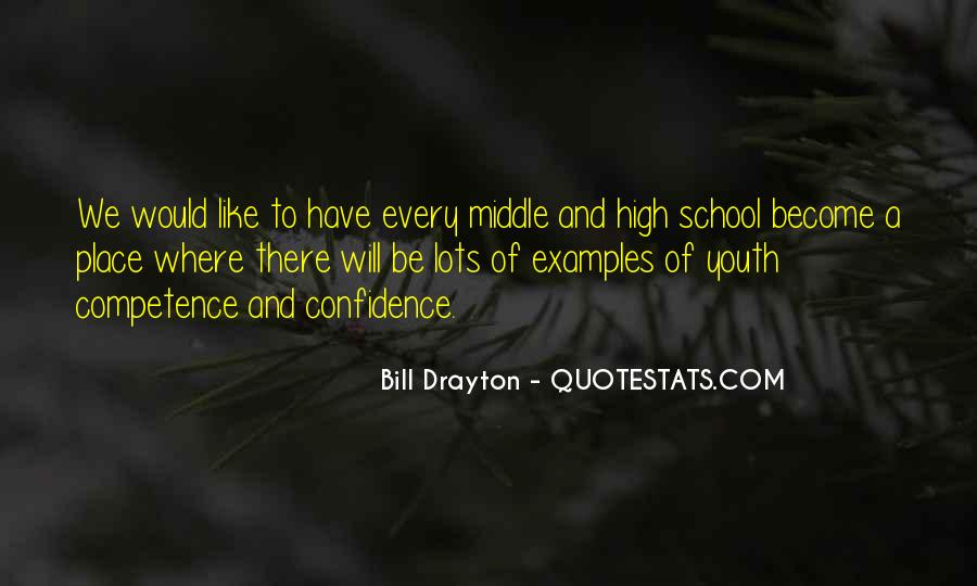 Quotes About Middle School To High School #821577