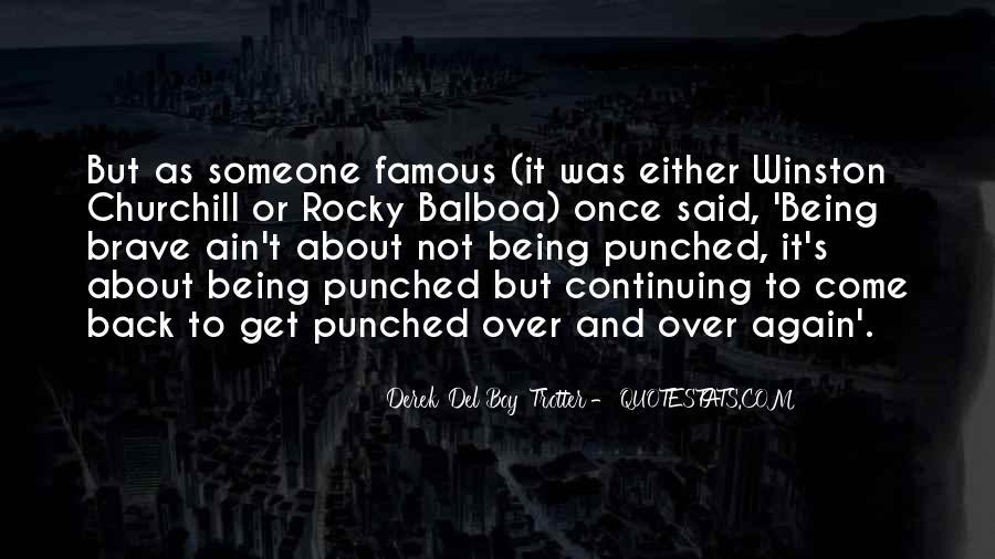 Balboa Quotes #1099090