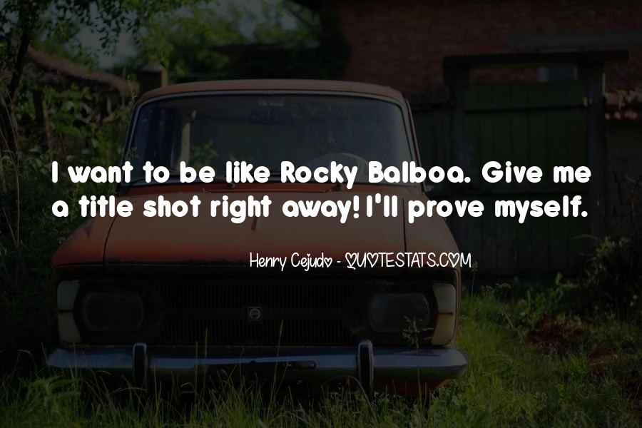 Balboa Quotes #528258