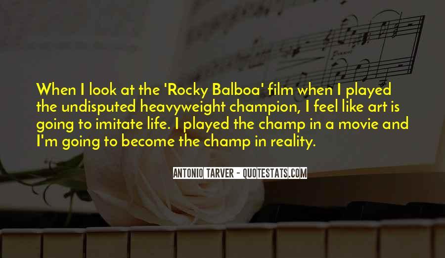 Balboa Quotes #649831