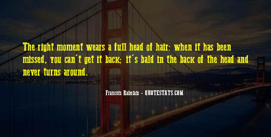 Bald Head Quotes #130692