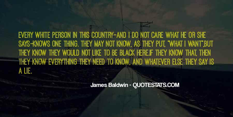 Baldwin James Quotes #10019