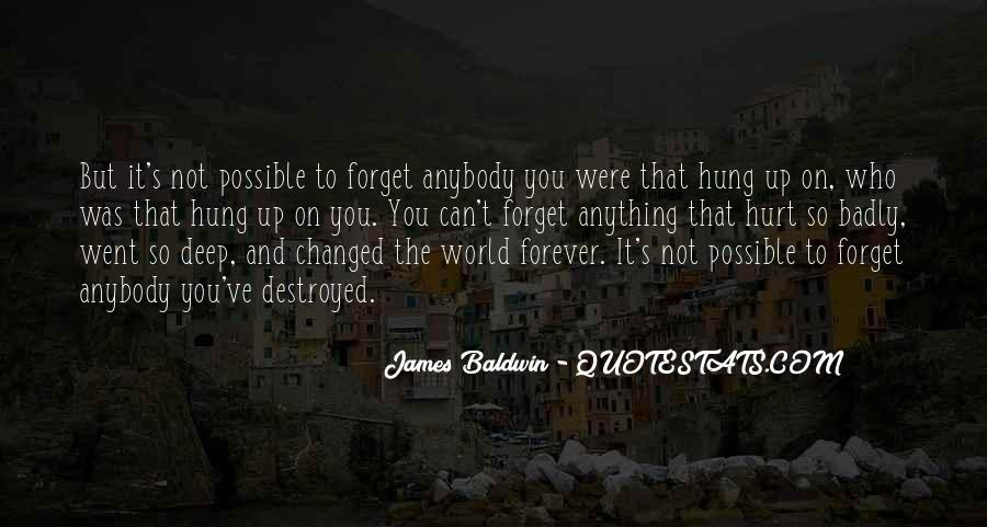 Baldwin James Quotes #1346