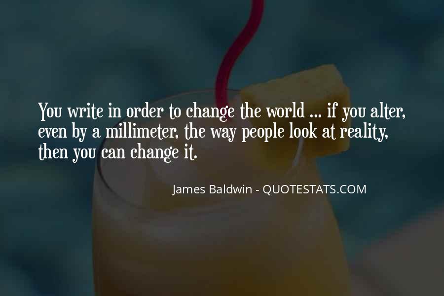 Baldwin James Quotes #135862