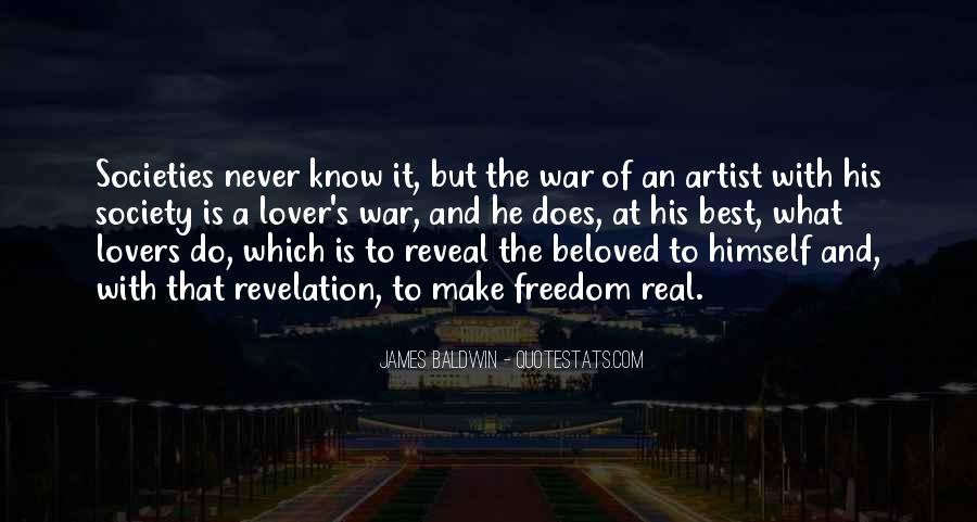 Baldwin James Quotes #147360