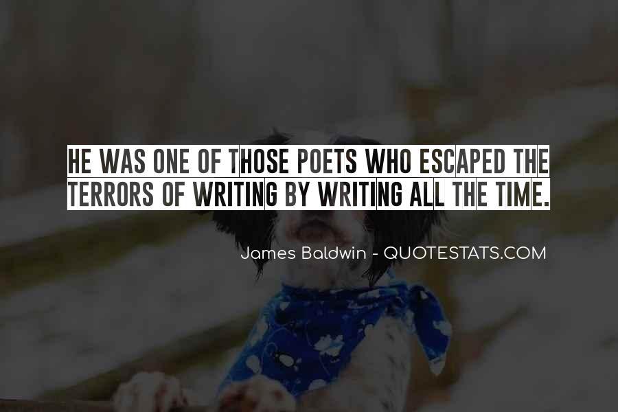 Baldwin James Quotes #156966
