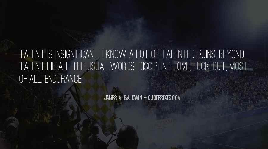 Baldwin James Quotes #162752