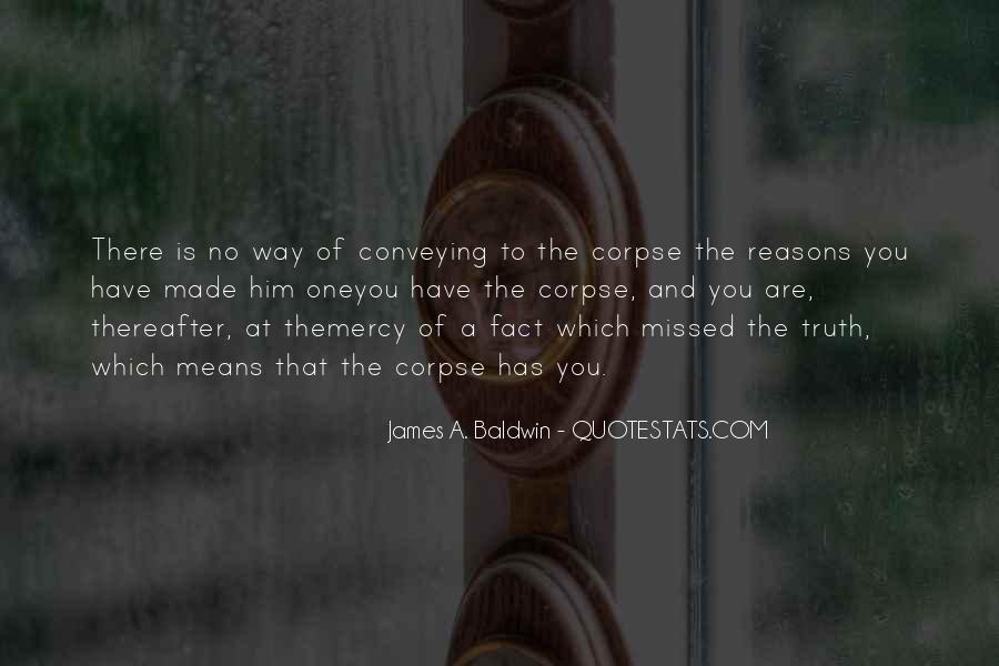 Baldwin James Quotes #185392