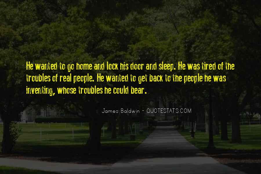 Baldwin James Quotes #197933