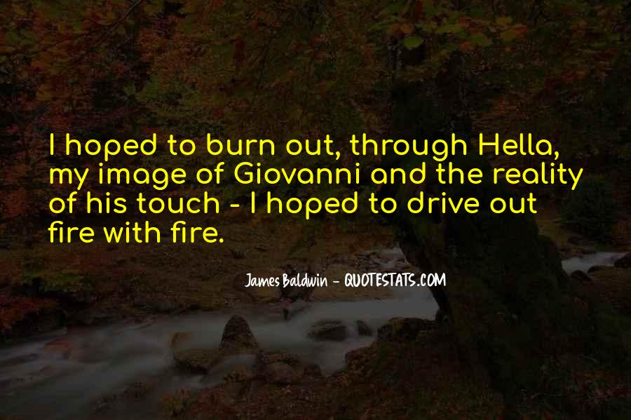 Baldwin James Quotes #20633