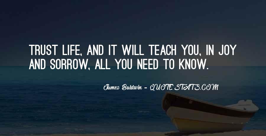 Baldwin James Quotes #227670