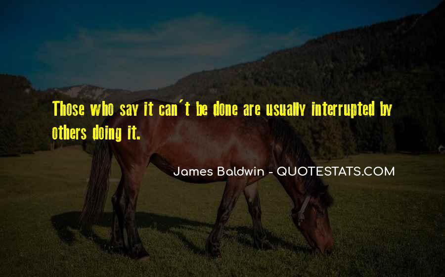 Baldwin James Quotes #230725