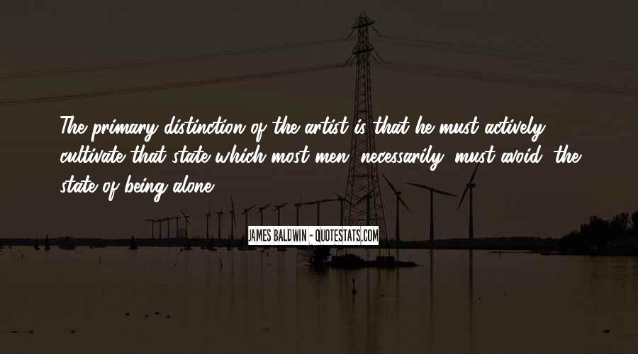 Baldwin James Quotes #265904
